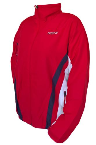 SWIX Team jacket Man red